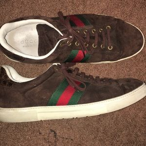 Gucci sneakers Size 12 Brown